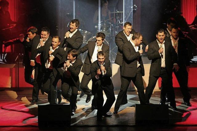 """""""The 12 Tenors"""" in Lahr"""