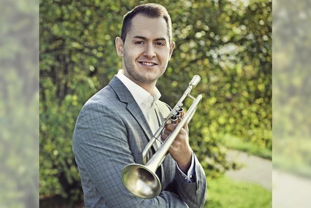 Der Wittlinger Trompeter Kevin Pabst ist im Fernsehen zu sehen