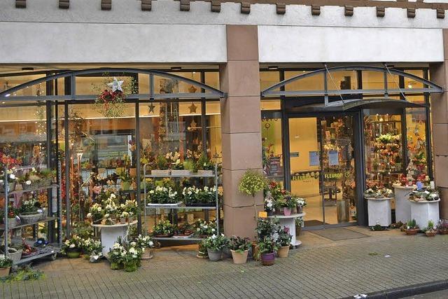 Für Blumengestecke gibt es immer weniger Nachfrage