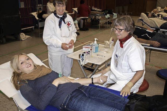 Blutspenden hinter den Erwartungen