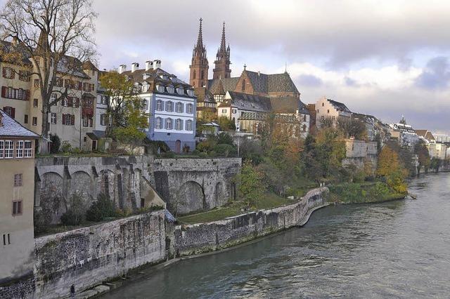 Das Volk entscheidet über Lücke im Basler Rheinuferweg