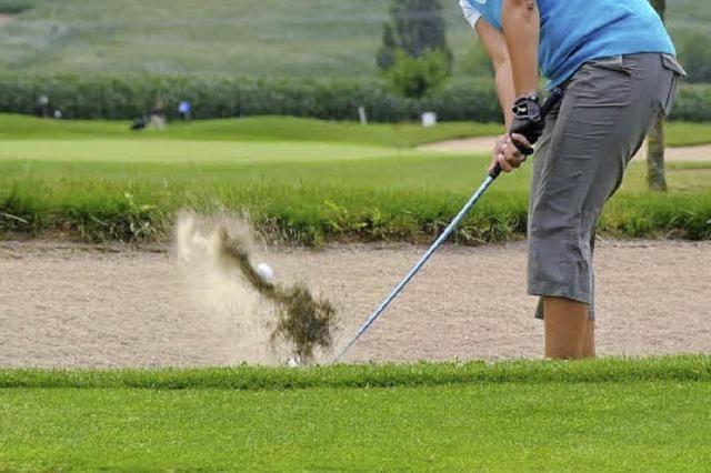 Grenzverkehr beim Golfspiel