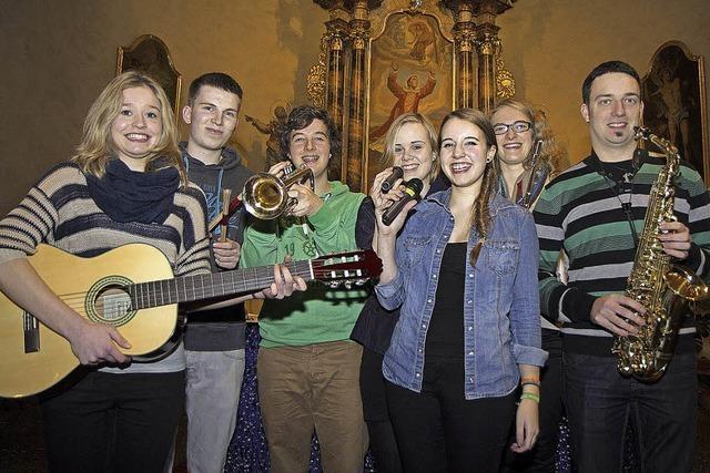 Ministrantenband spielt Kirchenkonzert für Rom