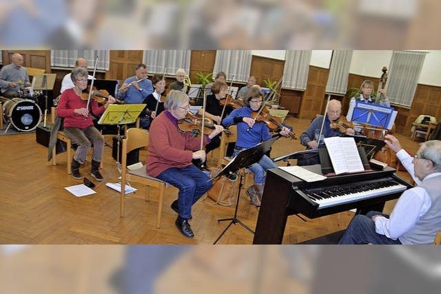Für das Salonorchester beginnt Neujahr immer schon im September