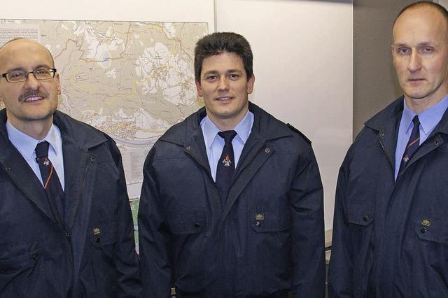 Alexander Zimmermann ist neuer Kommandant