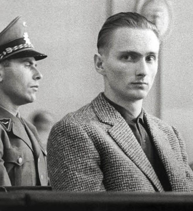 Heinrich Pommerenke in seinem Prozess vor dem Freiburger Landgericht   | Foto: bz