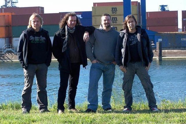 Die Band Splinter Proof hat im Lahrer Schlachhof gespielt