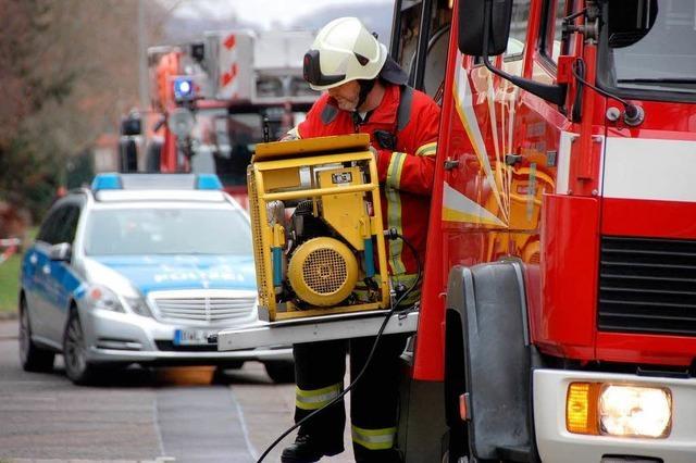 Gasalarm in der Bläserstraße