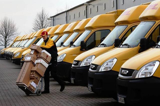 Das Online-Geschäft freut die Paketdienste