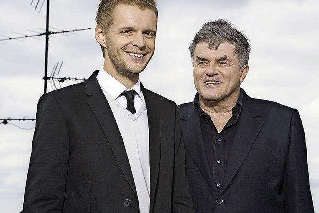 Florian Schroeder und Volkmar Staub in der Reithalle Offenburg