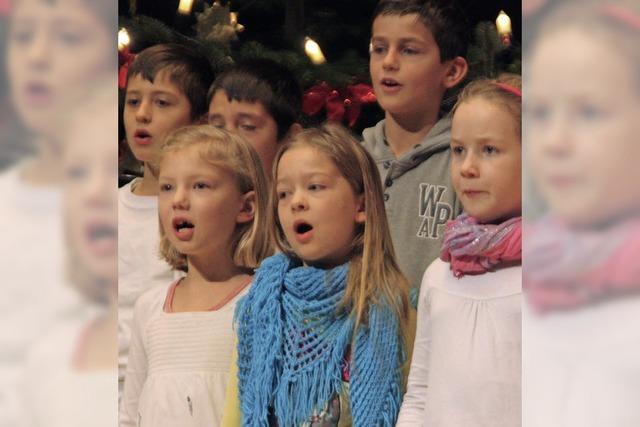 Weihnachtssingen weitet sich zu Chortreffen aus