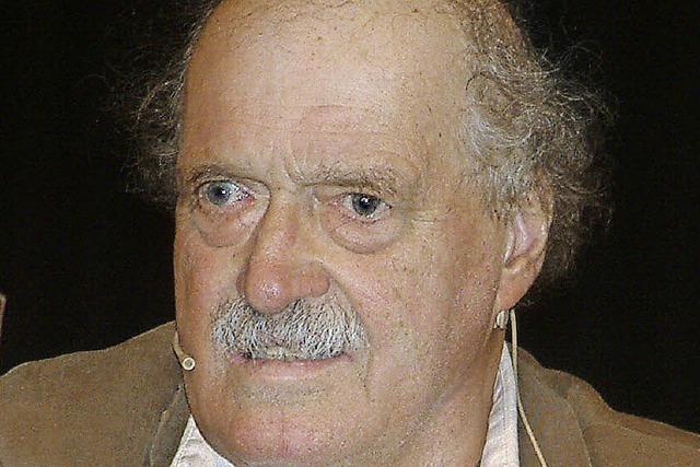 Literaturpreis für Urs Widmer