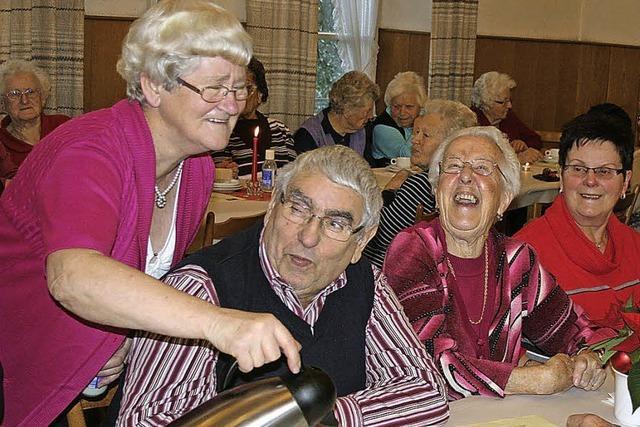 Senioren freuen sich über Gruß vom Bürgermeister
