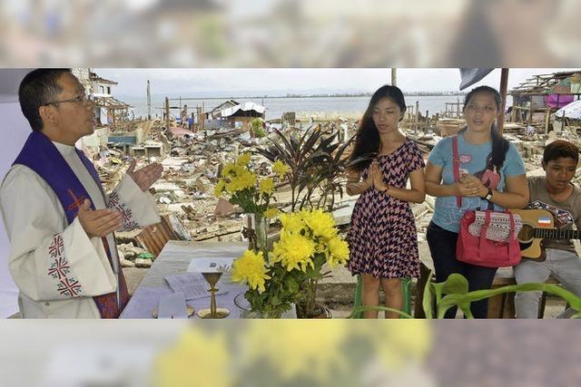 Weihnachten im Katastrophengebiet auf den Philippinen