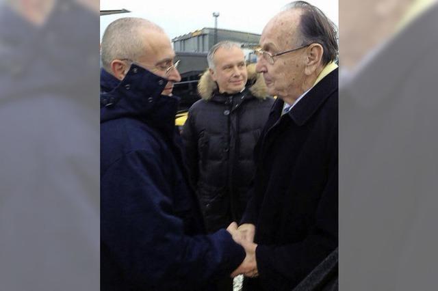 Chodorkowski ist in Berlin