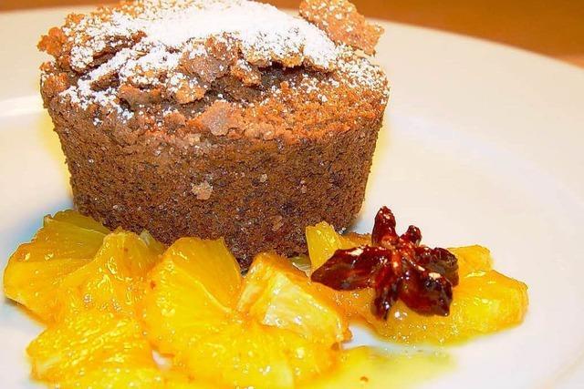 Lebkuchenauflauf als Dessert macht keinen Stress