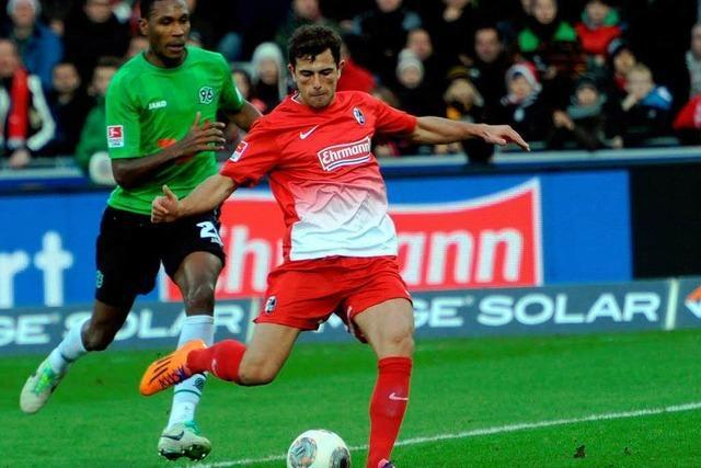 Mehmedi erlöst Freiburg – 2:1-Heimsieg gegen Hannover