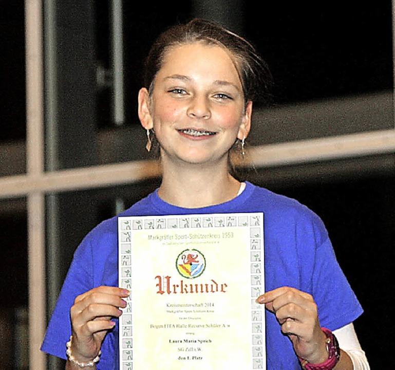 Laura Maria Sprich gewann die Schülerklasse A.   | Foto: privat
