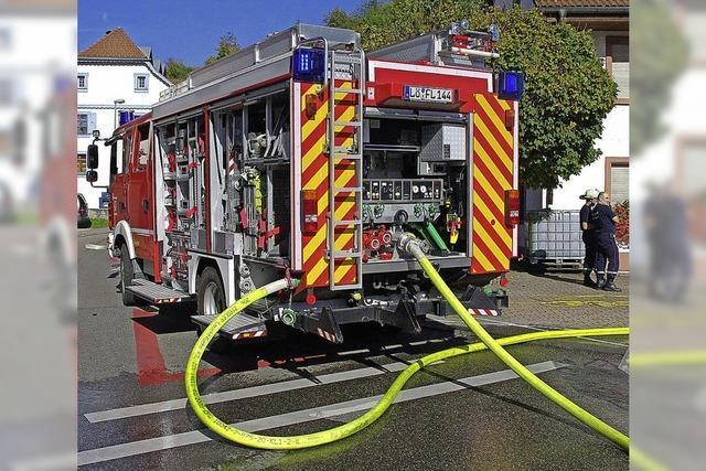 Schwörstadts Feuerwehr steht gut da