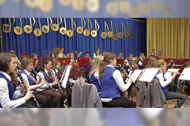 Stürmischer Applaus für die Musiker