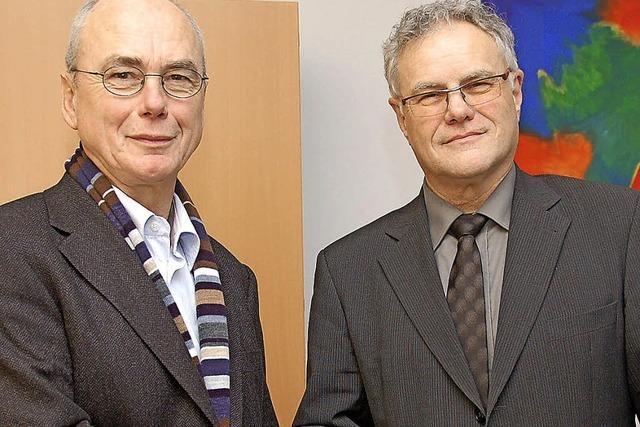 Sepp Schienle ist 40 Jahre im öffentlichen Dienst
