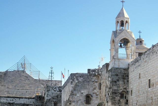 Dachschaden an der Geburtskirche