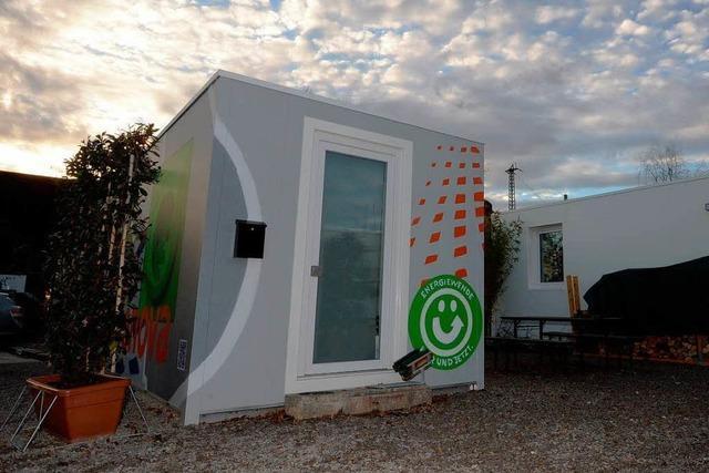 Freiburger Studenten testen das Wohnen im Container