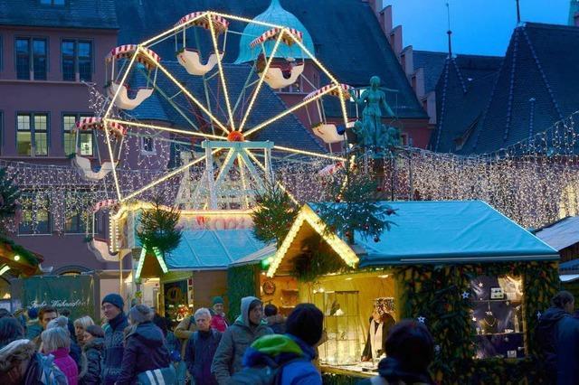 550.000 Besucher – Freiburger Weihnachtsmarkt endet mit Rekord