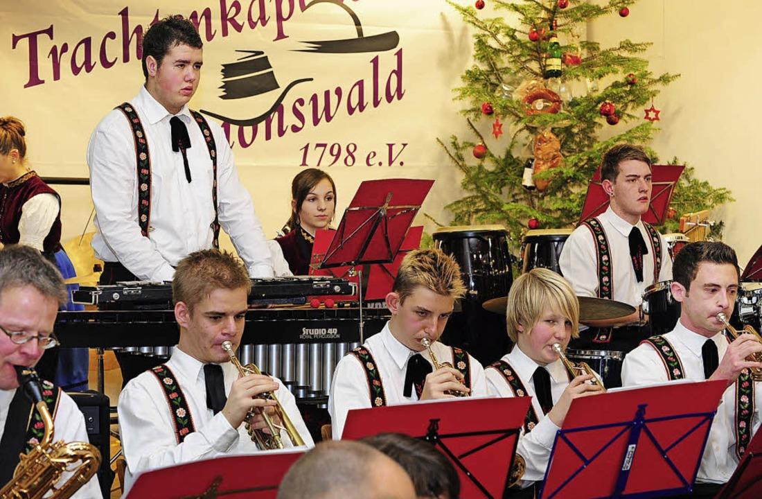 Mit Eifer beim Konzert dabei war auch der Nachwuchs.   | Foto: Fotos: Dauenhauer
