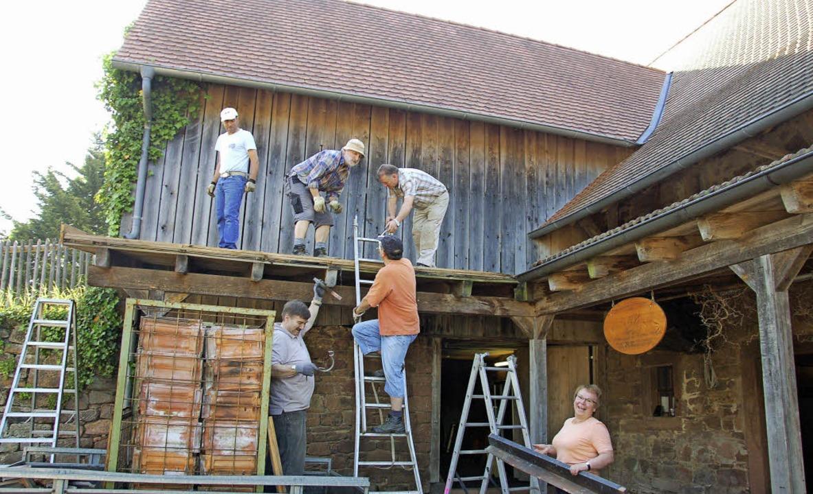 So funktioniert es in Freiamt: Freiwil...eim Freiämter Heimatmuseum im Freihof.  | Foto: Pia Grättinegr