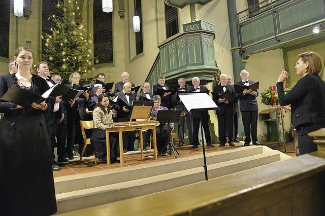 Chor und Stubenmusik