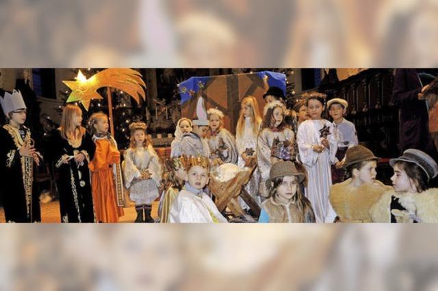 Die Geschichte der Heiligen Nacht