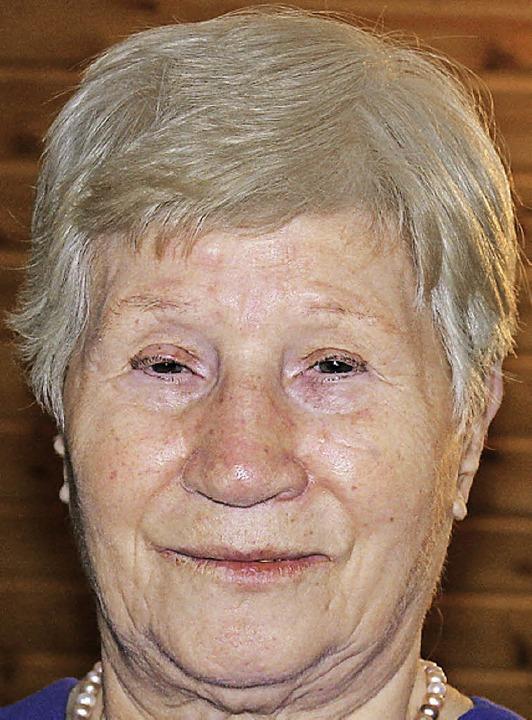 Antoinetta Del Deo feierte den 80. Geburtstag.    Foto: U. Hiller