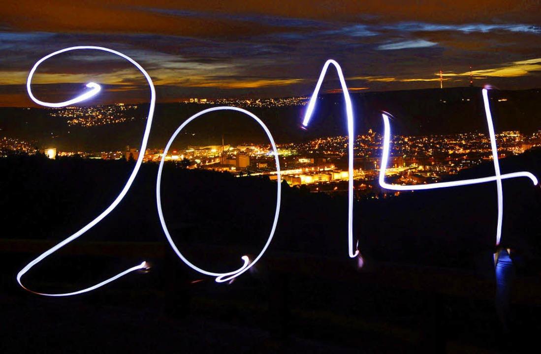 Das fudder-Team wünscht einen guten Rutsch in 2014!      Foto: DPA