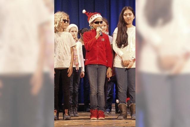 Acht Musik-AG's begeistern bei Konzert