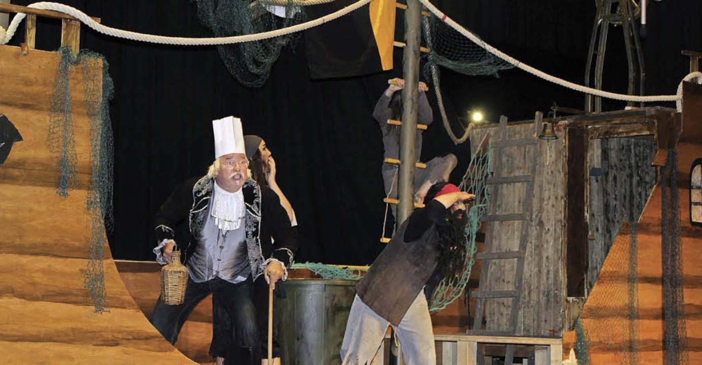 Die Piraten in Aktion    Foto: Sarah Beha