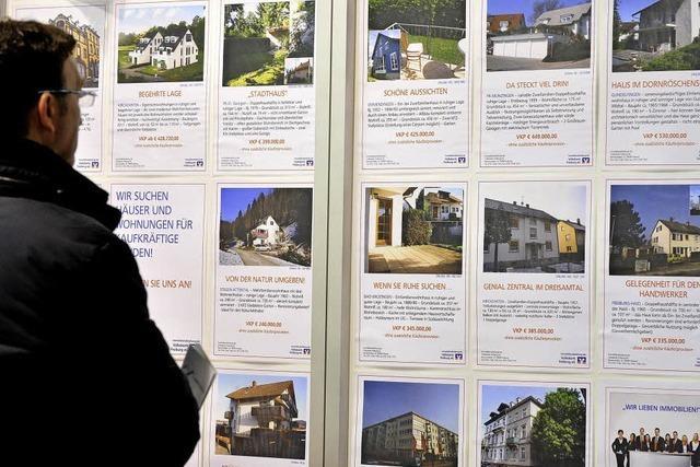 Immobilien immer teurer - Anstieg um fast 50 Prozent