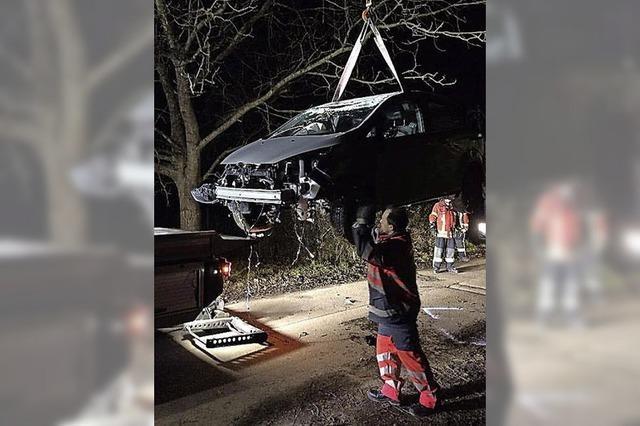 Auto geklaut – und total zerstört