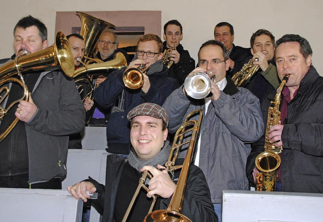 Auch für die Musiker immer wieder ein ...herab  am Nachmittag vor  Weihnachten.    Foto: SEDLAK