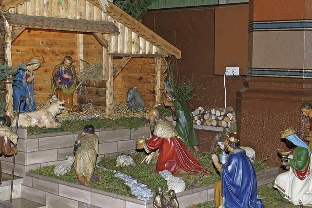 Auch die heiligen drei Könige dabei
