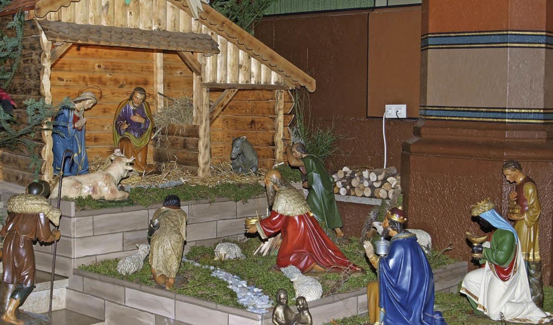 Eine wunderschön geschmückte Weihnacht...und Paul in Bonndorf bewundert werden.  | Foto: Daniele Schüle