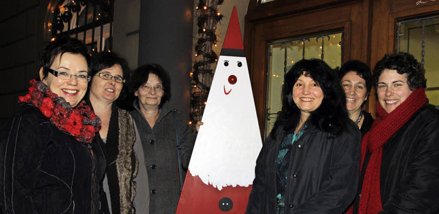 Die Macherinnen des Literarischen Adve...a Laule-Wittmer und Michelle Mosiere.     Foto: Eva Korinth