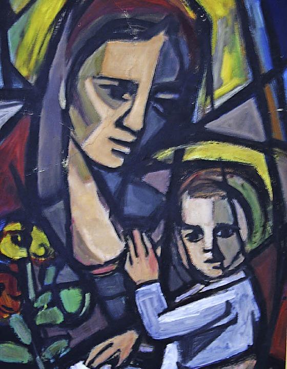 &#8222;Maria mit Kind&#8220;, ein Werk...NurRepro>Georg Diehl</BZ-FotoNurRepro>  | Foto: Georg Diehl