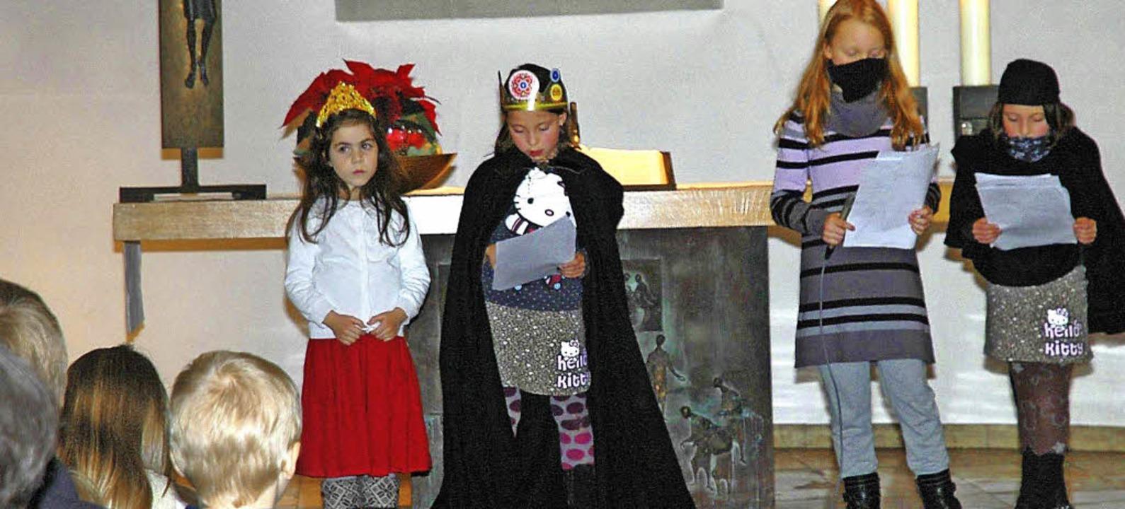 In der evangelischen Versöhnungskirche...te während des Familiengottesdienstes.  | Foto: chymo