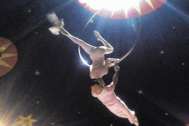 Spektakel unter der Zirkuskuppel