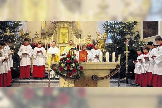 Gut besuchte Kirchen und Gottesdienste