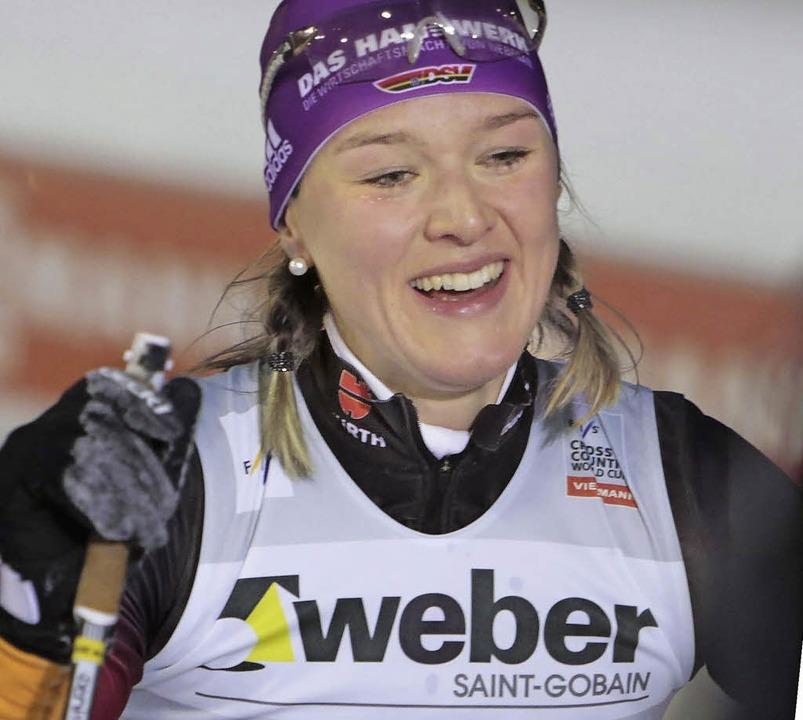 Als einzige Deutsche derzeit Weltklasse: Denise Herrmann     Foto: DPA