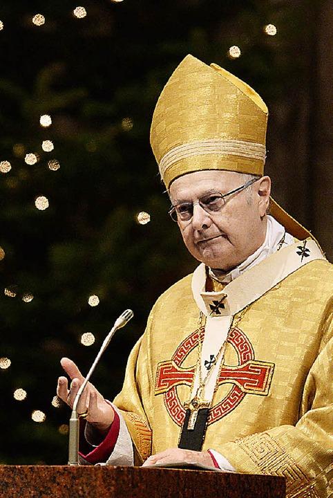 Erzbischof Robert Zollitsch  | Foto: dpa