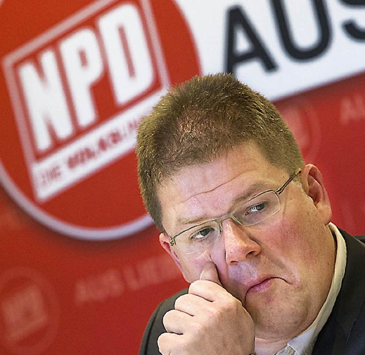 Holger Apfel   | Foto: dpa