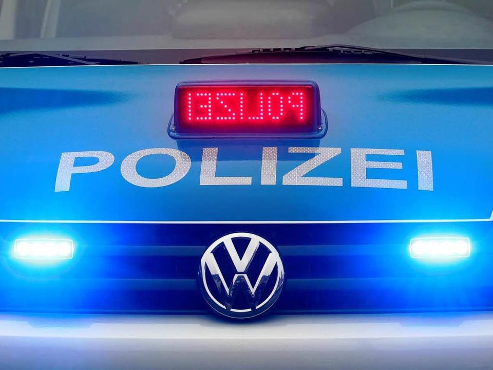 Die Polizei musste in Bad Krozingen ausrücken.  | Foto: dpa